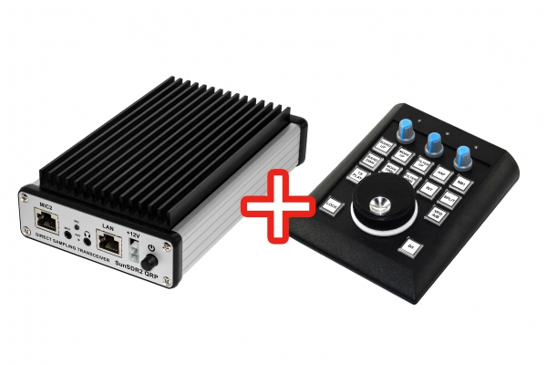 SunSDR2 QRP + панель E-Coder Plus