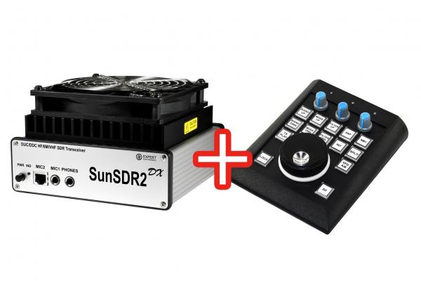 SunSDR2 DX + панель E-Coder